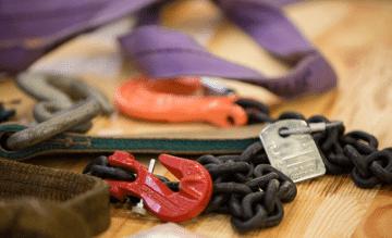 Material für Betriebsmittelsicherheit und Leitern prüfen
